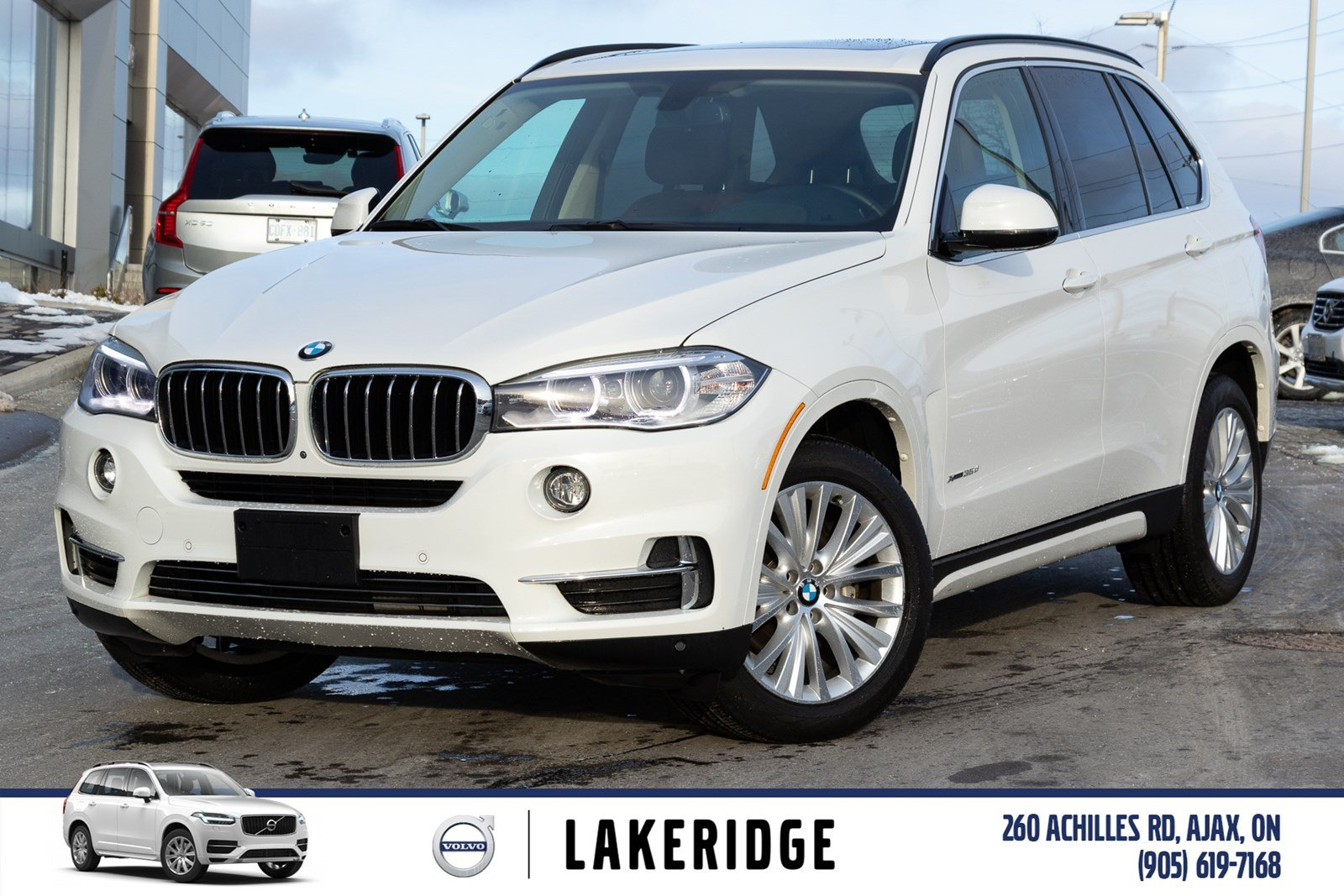 Pre-Owned 2015 BMW X5 x drive 3.5 DIESEL, NAV, HT. S. WHEEL