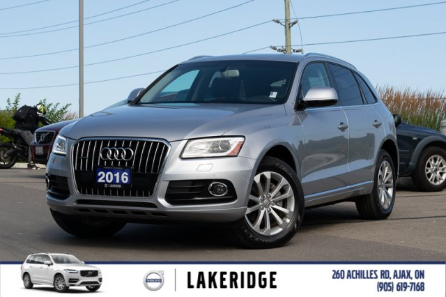 Pre-Owned 2016 Audi Q5 Premium Plus |NEW TIRES|NAV|BACK UP CAMERA|PANORAMIC ROOF