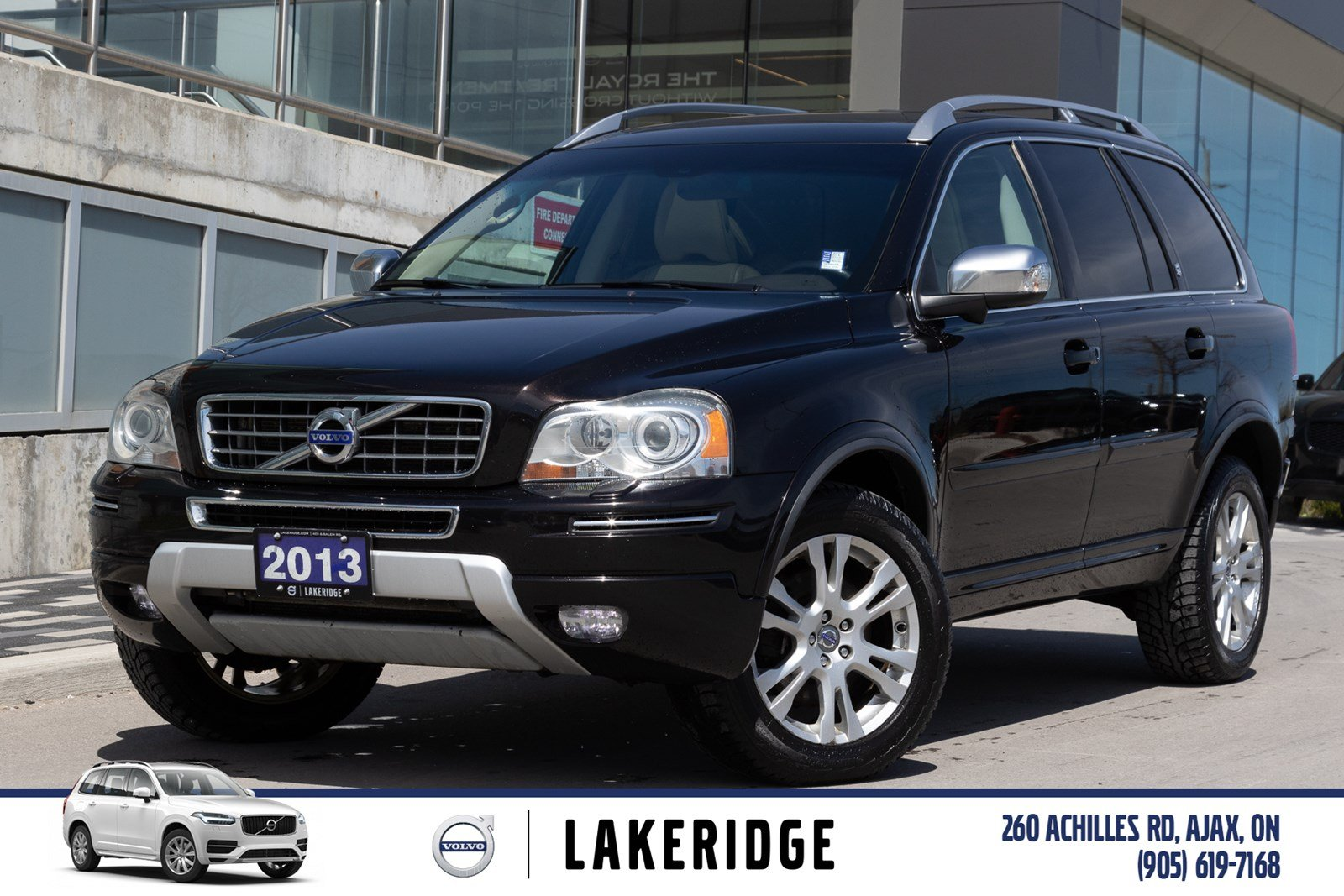 Pre-Owned 2013 Volvo XC90 3.2 Premier Plus AWD