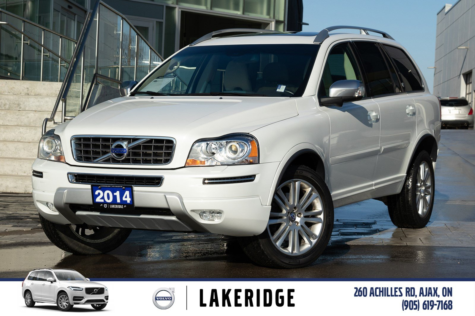 Pre-Owned 2014 Volvo XC90 3.2 Premier Plus
