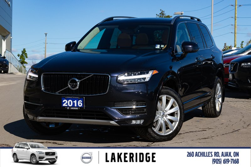 Certified Pre-Owned 2016 Volvo XC90 T6 Momentum |CPO 6YR/160K VOLVO WARRANTY|360 CAM|HEATED STEERING