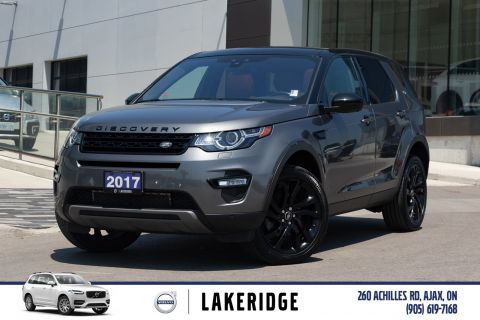 Pre-Owned 2017 Land Rover Discovery Sport HSE LUX |NAV|360 CAM|HEATED STEERING & REAR SEATS|MERIDIAN SOUND|VENTILATED SEATS|WINTER WHEEL KIT