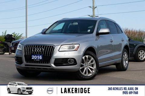Pre-Owned 2016 Audi Q5 Progressiv |NEW TIRES|NAV|BACK UP CAMERA|PANORAMIC ROOF