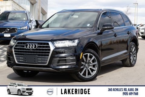 Pre-Owned 2017 Audi Q7 3.0T Technik |NAV|BOSE SOUND|DVD|360 CAMERA|NEW TIRES & NEW BRAKES|VENTILATED SEATS|POWER 3RD ROW