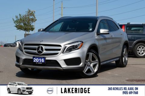 Pre-Owned 2016 Mercedes-Benz GLA 250 |AMG SPORT|NAV|BACK UP|BLIND SPOT|LED HEADLIGHTS|WINTER WHEEL KIT|WEATHER TECH