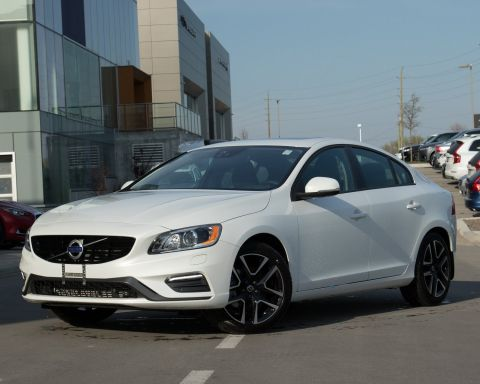 New 2018 Volvo S60 T6 Dynamic 0.9% LEASE & FINANCE RATES