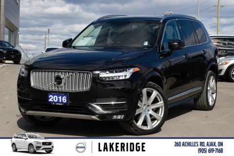 Pre-Owned 2016 Volvo XC90 T6. B&W AUDIO, HUD,
